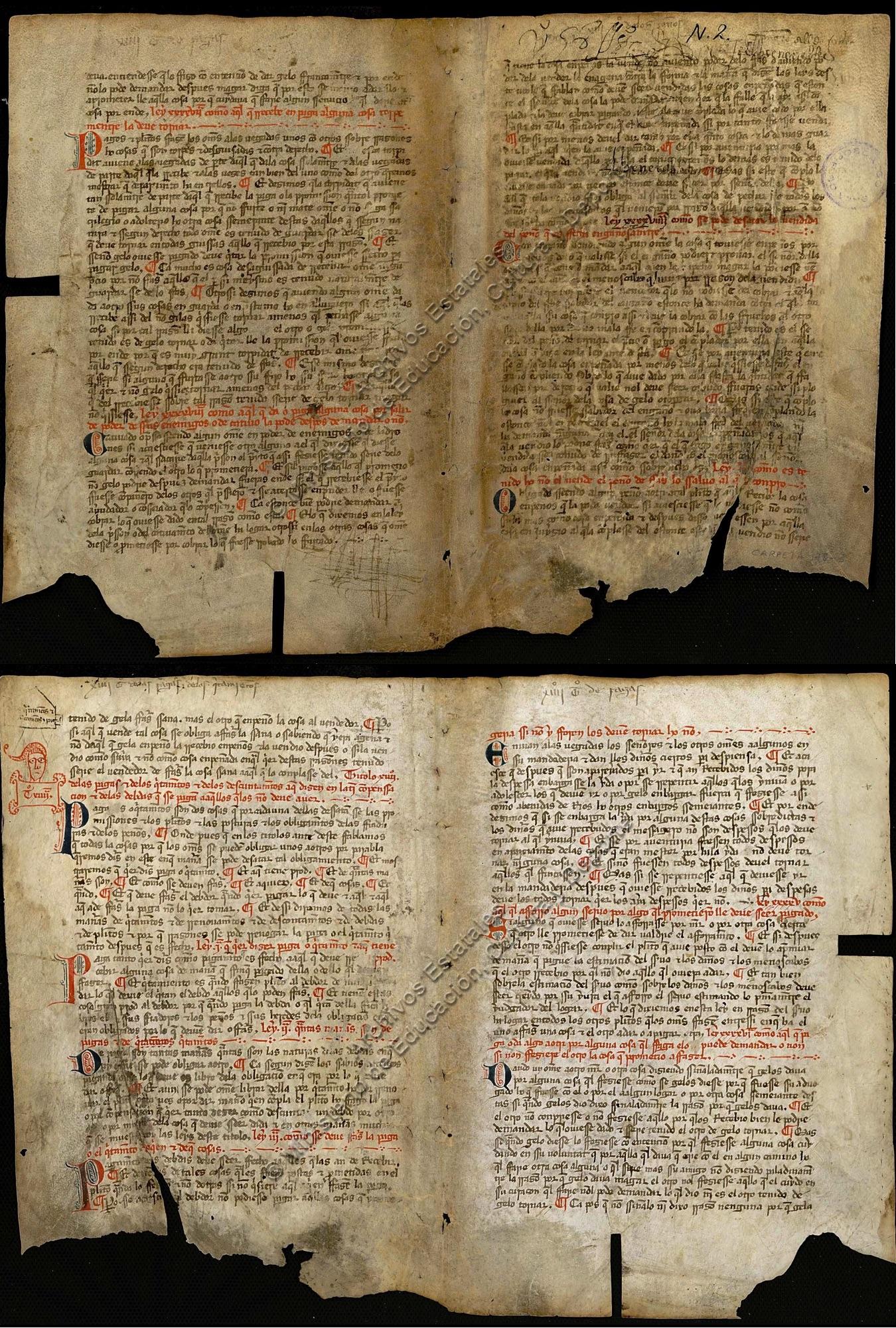 ARCHVa, Pergaminos 178-3 (VA3)